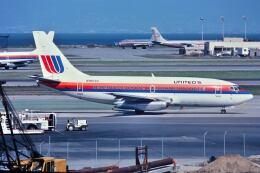 パール大山さんが、サンフランシスコ国際空港で撮影したユナイテッド航空 737-222の航空フォト(飛行機 写真・画像)