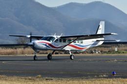 Gambardierさんが、岡南飛行場で撮影した朝日航空 208B Grand Caravanの航空フォト(飛行機 写真・画像)
