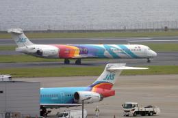 senyoさんが、羽田空港で撮影した日本エアシステム MD-90-30の航空フォト(飛行機 写真・画像)