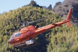 ラムさんが、静岡ヘリポートで撮影したつくば航空 AS350B2 Ecureuilの航空フォト(飛行機 写真・画像)