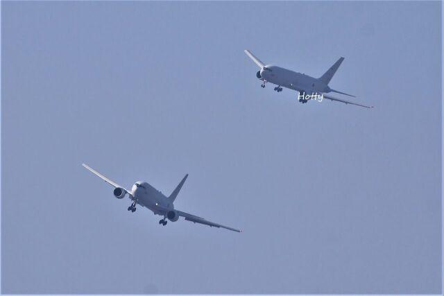 Hottyさんが、名古屋飛行場で撮影した航空自衛隊 KC-767J (767-2FK/ER)の航空フォト(飛行機 写真・画像)