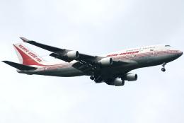 jun☆さんが、成田国際空港で撮影したエア・インディア 747-437の航空フォト(飛行機 写真・画像)