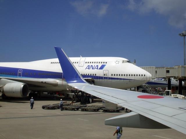 しまb747さんが、那覇空港で撮影した全日空 747-481(D)の航空フォト(飛行機 写真・画像)