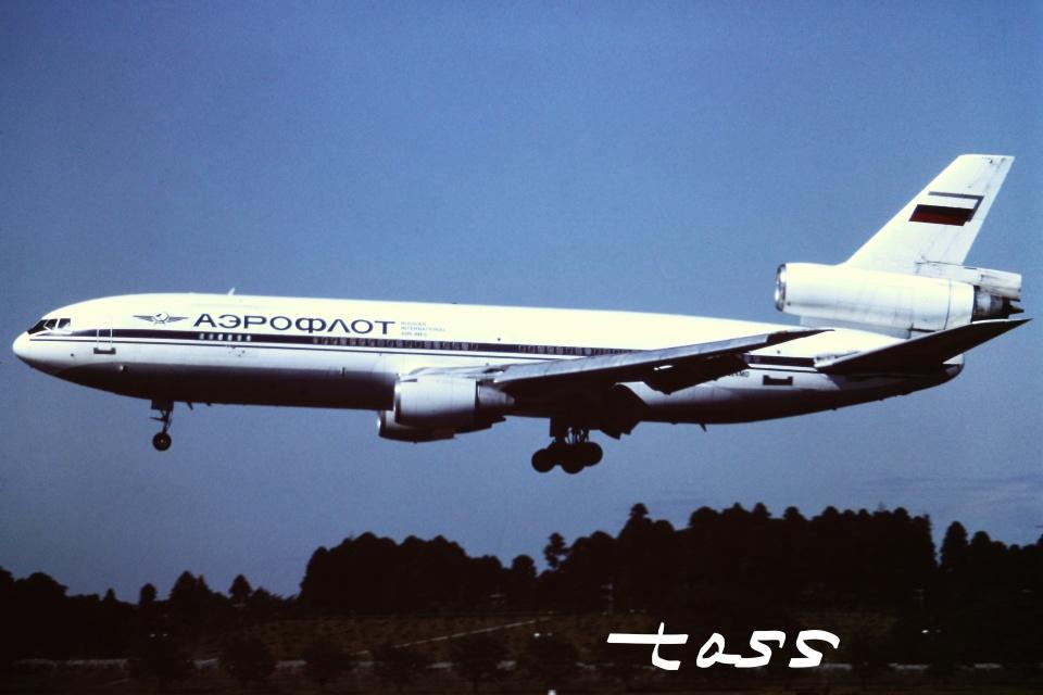 tassさんのアエロフロート・カーゴ McDonnell Douglas DC-10 (N524MD) 航空フォト