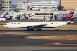 sky-spotterさんが、羽田空港で撮影したデルタ航空 A330-941の航空フォト(飛行機 写真・画像)