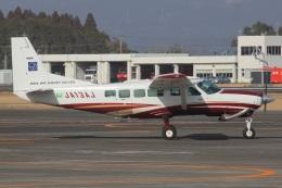 MOR1(新アカウント)さんが、鹿児島空港で撮影したアジア航測 208 Caravan Iの航空フォト(飛行機 写真・画像)