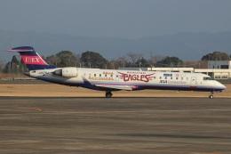 MOR1(新アカウント)さんが、鹿児島空港で撮影したアイベックスエアラインズ CL-600-2C10 Regional Jet CRJ-702の航空フォト(飛行機 写真・画像)