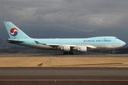 MOR1(新アカウント)さんが、鹿児島空港で撮影した大韓航空 747-4B5F/ER/SCDの航空フォト(飛行機 写真・画像)