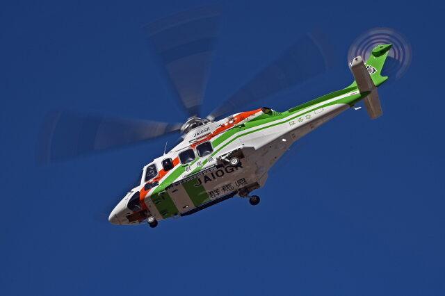 NIKKOREX Fさんが、群馬ヘリポートで撮影した群馬県防災航空隊 AW139の航空フォト(飛行機 写真・画像)