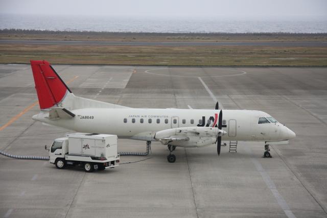 プルシアンブルーさんが、奄美空港で撮影した日本エアコミューター 340Bの航空フォト(飛行機 写真・画像)