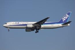 sky-spotterさんが、羽田空港で撮影した全日空 767-381/ERの航空フォト(飛行機 写真・画像)
