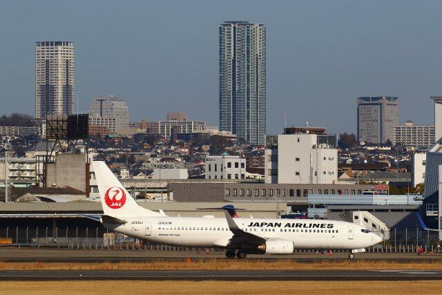 khideさんが、伊丹空港で撮影した日本航空 737-846の航空フォト(飛行機 写真・画像)