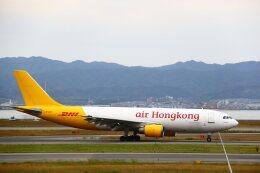 khideさんが、関西国際空港で撮影したエアー・ホンコン A300F4-605Rの航空フォト(飛行機 写真・画像)