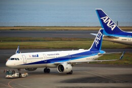 T.Sazenさんが、羽田空港で撮影した全日空 A321-272Nの航空フォト(飛行機 写真・画像)