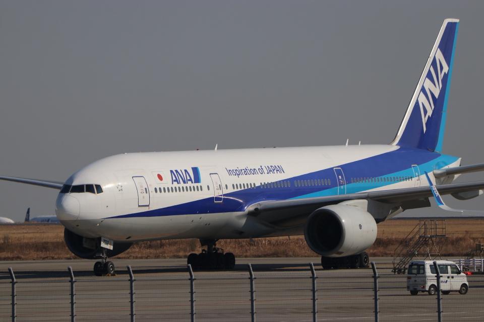 imosaさんの全日空 Boeing 777-200 (JA702A) 航空フォト