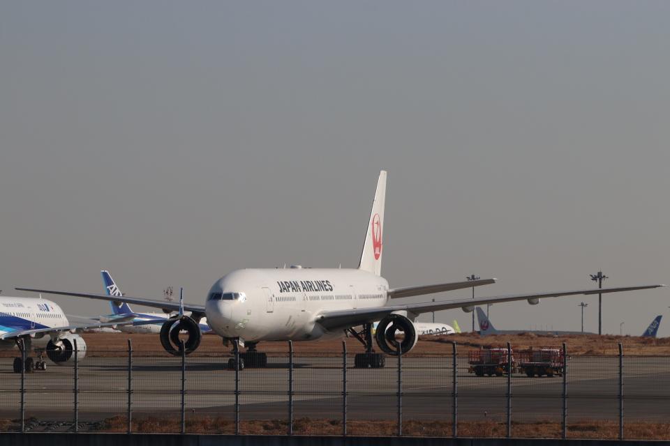 imosaさんの日本航空 Boeing 777-200 (JA008D) 航空フォト