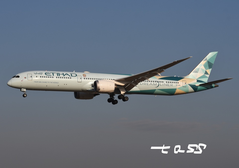 tassさんのエティハド航空 Boeing 787-10 (A6-BMH) 航空フォト