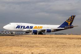 KANTO61さんが、横田基地で撮影したアトラス航空 747-481(BCF)の航空フォト(飛行機 写真・画像)