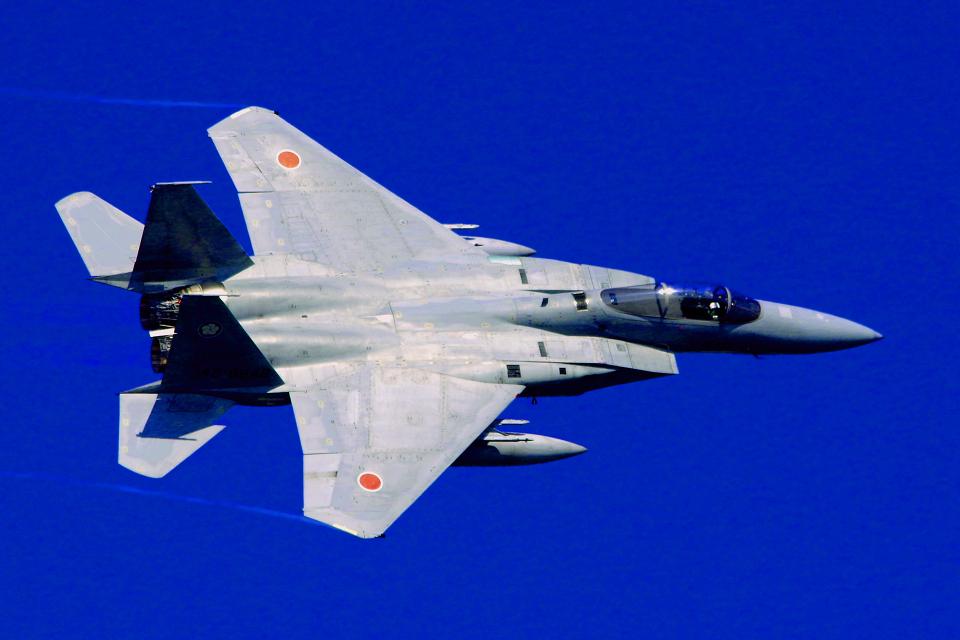 AWACSさんの航空自衛隊 Mitsubishi F-15J Eagle (42-8842) 航空フォト