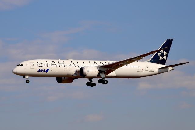 A350XWB-HNDさんが、成田国際空港で撮影した全日空 787-9の航空フォト(飛行機 写真・画像)