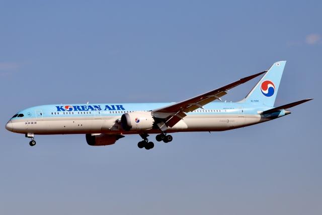 A350XWB-HNDさんが、成田国際空港で撮影した大韓航空 787-9の航空フォト(飛行機 写真・画像)