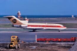 パール大山さんが、サンフランシスコ国際空港で撮影したコンチネンタル航空 727-22の航空フォト(飛行機 写真・画像)