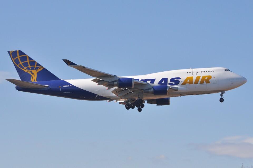 デルタおA330さんのアトラス航空 Boeing 747-400 (N429MC) 航空フォト
