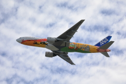 TAKAHIDEさんが、関西国際空港で撮影した全日空 777-281/ERの航空フォト(飛行機 写真・画像)
