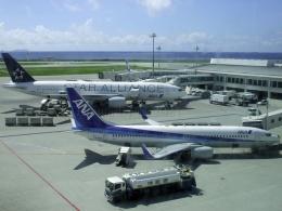 しまb747さんが、那覇空港で撮影した全日空 737-881の航空フォト(飛行機 写真・画像)