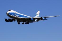 メンチカツさんが、成田国際空港で撮影したエアブリッジ・カーゴ・エアラインズ 747-83QFの航空フォト(飛行機 写真・画像)