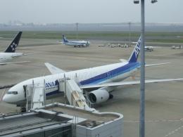 しまb747さんが、羽田空港で撮影した全日空 777-281/ERの航空フォト(飛行機 写真・画像)