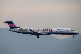 SGさんが、福岡空港で撮影したアイベックスエアラインズ CL-600-2C10 Regional Jet CRJ-702の航空フォト(飛行機 写真・画像)