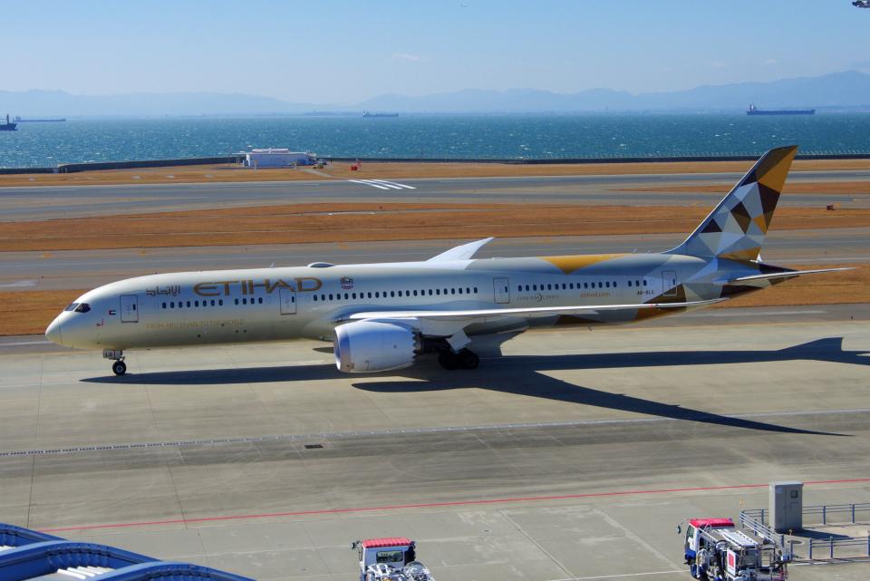 yabyanさんのエティハド航空 Boeing 787-9 (A6-BLG) 航空フォト