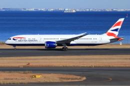 とらとらさんが、羽田空港で撮影したブリティッシュ・エアウェイズ 787-9の航空フォト(飛行機 写真・画像)