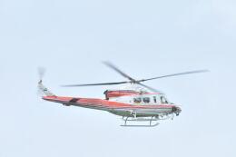 姫神さんが、青森空港で撮影した青森県防災航空隊 412EPIの航空フォト(飛行機 写真・画像)