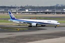 もぐ3さんが、羽田空港で撮影した全日空 777-381/ERの航空フォト(飛行機 写真・画像)