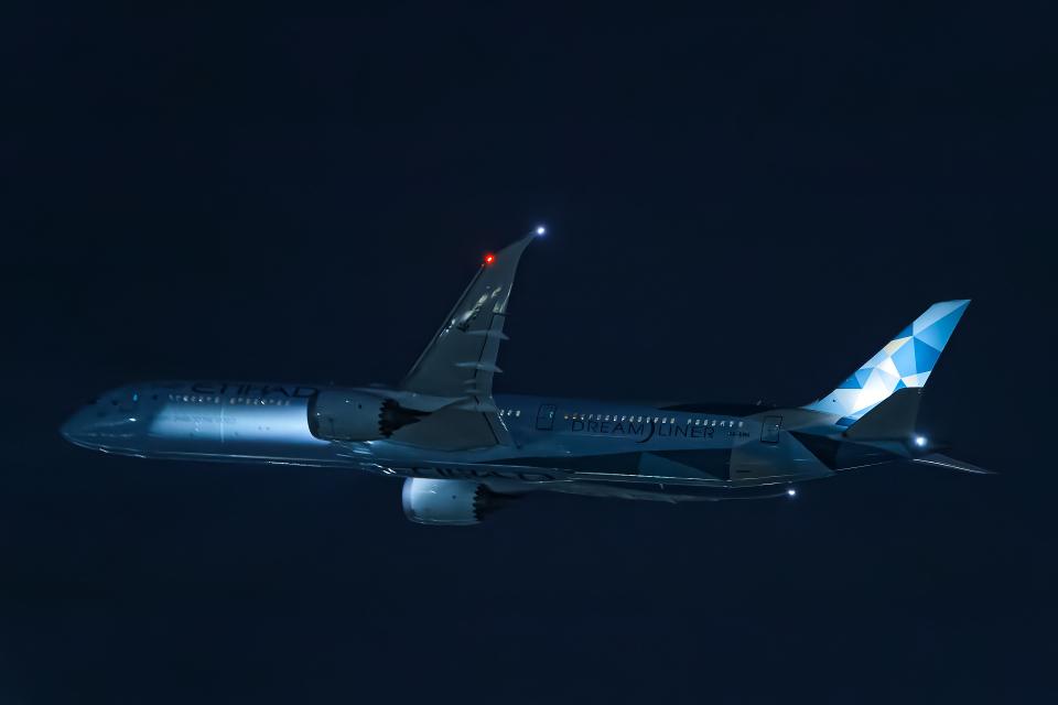 SGR RT 改さんのエティハド航空 Boeing 787-10 (A6-BMH) 航空フォト