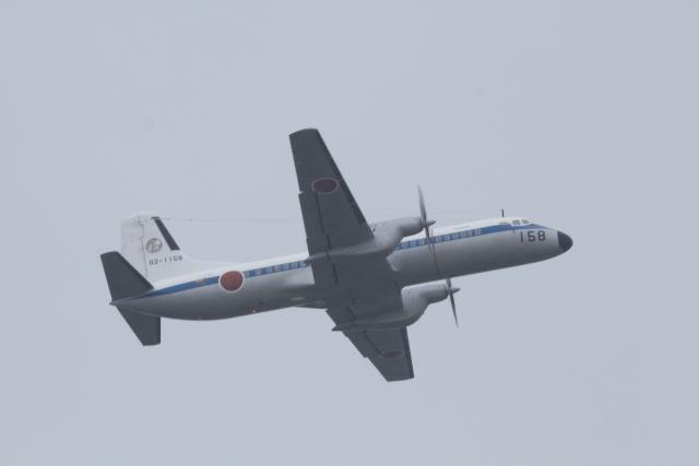 TAK_HND_NRTさんが、米子空港で撮影した航空自衛隊 YS-11A-402Cの航空フォト(飛行機 写真・画像)