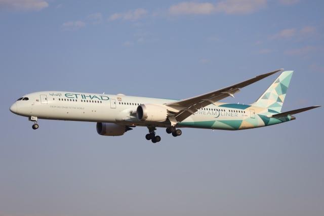 m_aereo_iさんが、成田国際空港で撮影したエティハド航空 787-10の航空フォト(飛行機 写真・画像)
