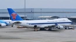 让开我先飞さんが、広州白雲国際空港で撮影した中国南方航空 747-41BF/SCDの航空フォト(飛行機 写真・画像)