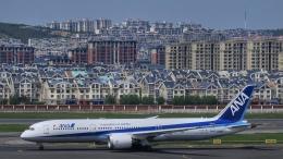 让开我先飞さんが、大連周水子国際空港で撮影した全日空 787-9の航空フォト(飛行機 写真・画像)