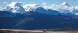 让开我先飞さんが、康定空港で撮影した雲南祥鵬航空 737-74Pの航空フォト(飛行機 写真・画像)