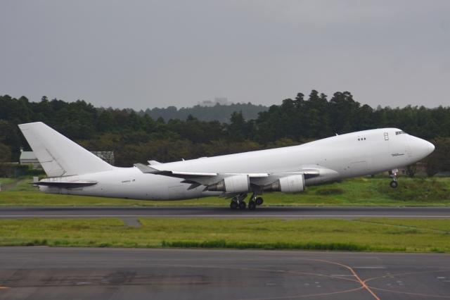 あおいそらさんが、成田国際空港で撮影したアトラス航空 747-481F/SCDの航空フォト(飛行機 写真・画像)