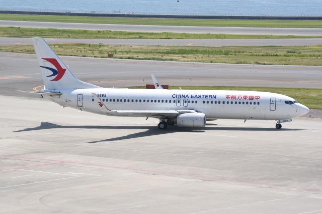 kumagorouさんが、中部国際空港で撮影した中国東方航空 737-89Pの航空フォト(飛行機 写真・画像)