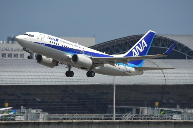 あおいそらさんが、関西国際空港で撮影した全日空 737-781の航空フォト(飛行機 写真・画像)
