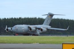 あおいそらさんが、横田基地で撮影したアメリカ空軍 C-17A Globemaster IIIの航空フォト(飛行機 写真・画像)
