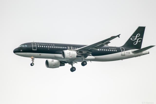 Y-Kenzoさんが、羽田空港で撮影したスターフライヤー A320-214の航空フォト(飛行機 写真・画像)