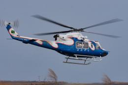 マックパパさんが、宮崎空港で撮影した宮崎県防災救急航空隊 412EPの航空フォト(飛行機 写真・画像)