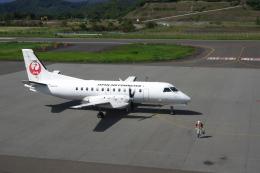平凡なおっちゃんさんが、但馬空港で撮影した日本エアコミューター 340Bの航空フォト(飛行機 写真・画像)