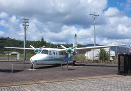 平凡なおっちゃんさんが、但馬空港で撮影した共立航空撮影 680FL Grand Commanderの航空フォト(飛行機 写真・画像)